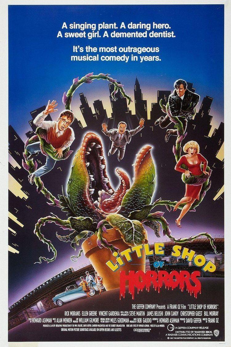 Little Shop of Horrors (1986 film) wwwgstaticcomtvthumbmovieposters9673p9673p