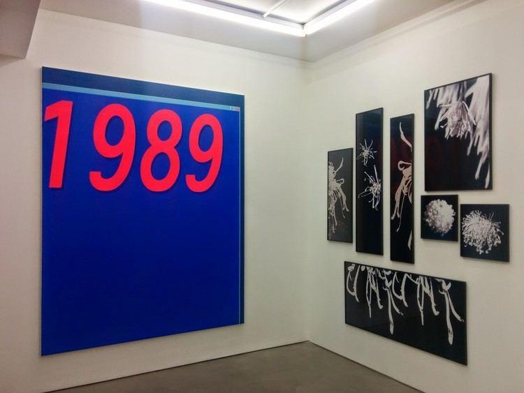 Liu Ding Exhibition New Man by Liu Ding MOT International with Sothebys
