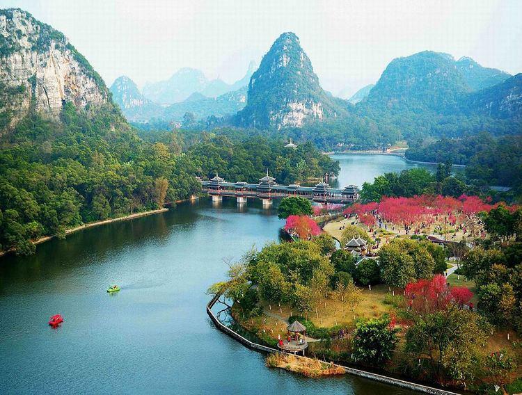 Liuzhou Beautiful Landscapes of Liuzhou