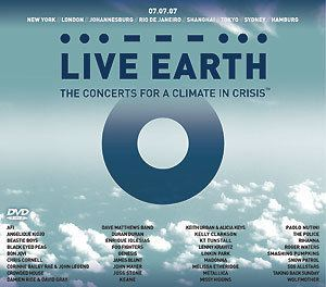 Live Earth Genesis to appear on Live Earth compilation GenesisFan