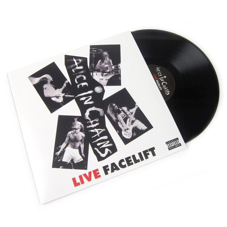 Live Facelift Alice In Chains Live Facelift Vinyl LP Record Store Day