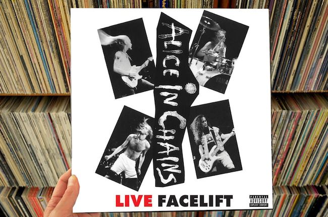 Live Facelift Alice In Chains Live Facelift 12 EP Hellboundca