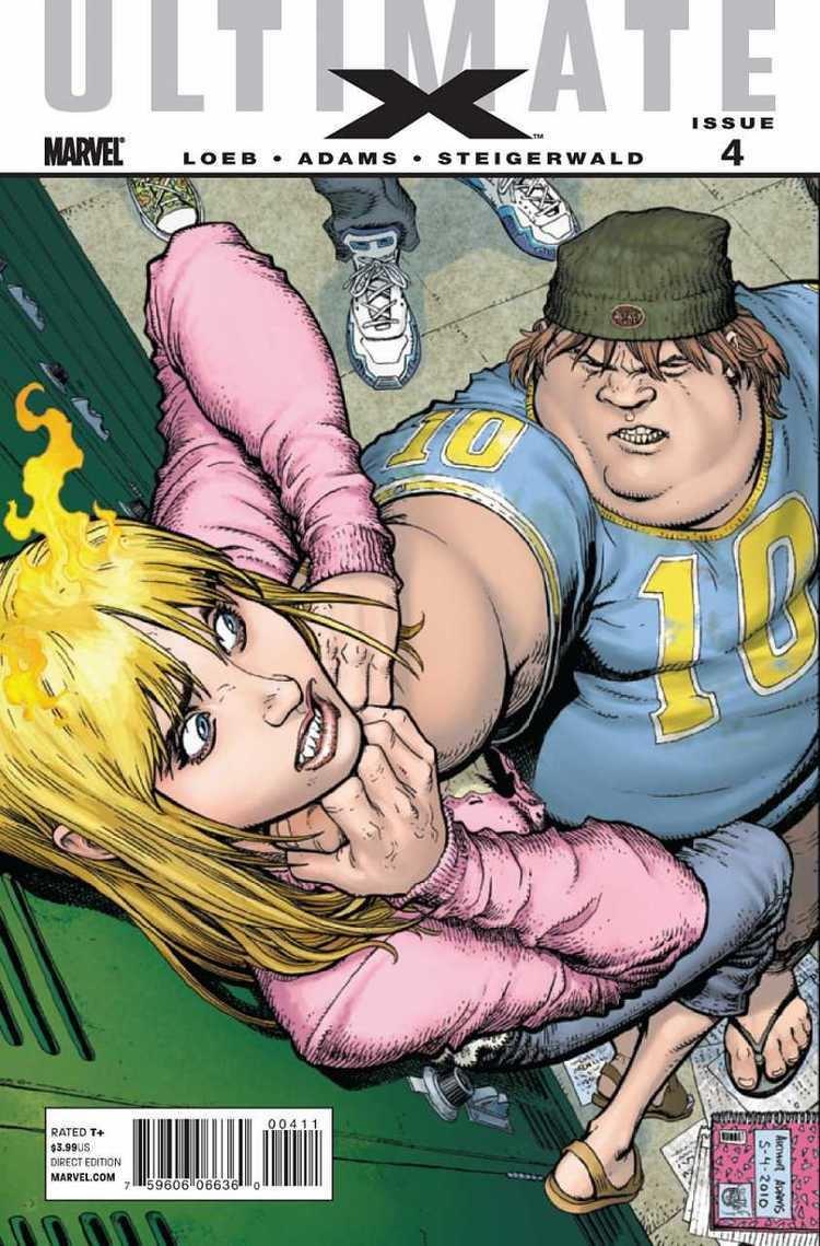 Liz Allen Ultimate X 4 What Ever Happened to Liz Allen Issue