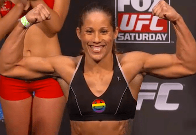 Liz Carmouche QUICK TWITT Liz Carmouche Forced To Remind Male Fans