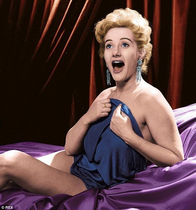 Liz Fraser Pull your trousers up Peter That39s what Carry On star Liz