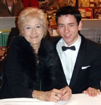 Liz Fraser Ciaran Brown meets actress Liz Fraser