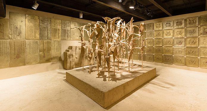 Liz Glynn SculptureCenter Exhibition Liz Glynn RANSOM ROOM