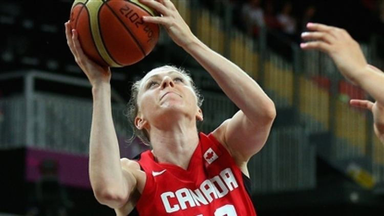 Lizanne Murphy Trio of players say goodbye to Canadian womens basketball CBC