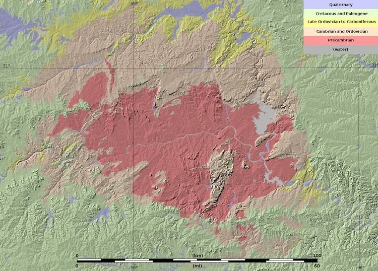 Llano Uplift FileLlano Uplift geologic map v1jpg Wikimedia Commons
