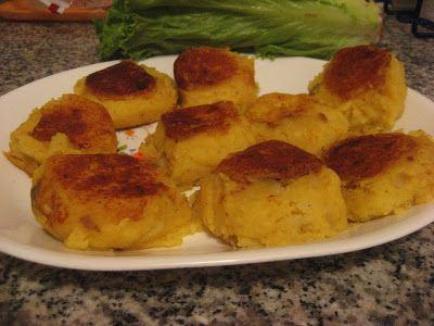 Llapingacho T39s Tasty Bits Llapingacho Ecuadorean Potato Patties stuffed with