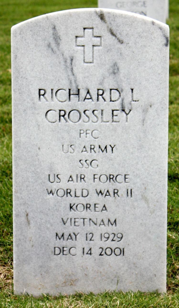 Lloyd Crossley Richard Lloyd Crossley 1929 2001 Find A Grave Memorial