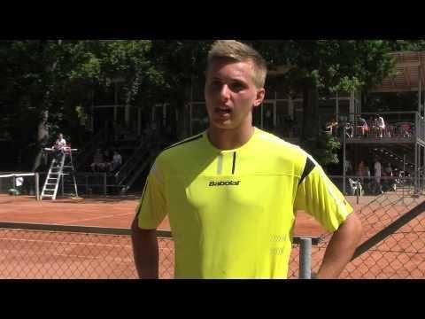 Lloyd Glasspool Interview Lloyd Glasspool Tennislivedk Aarhus Futures YouTube