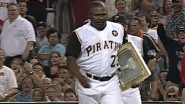 Lloyd McClendon McClendon ejected takes first base YouTube