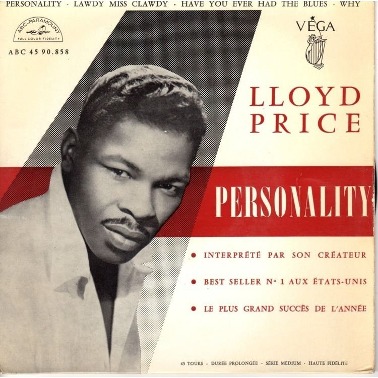 Lloyd Price personnality by LLOYD PRICE EP with prenaud Ref115114175