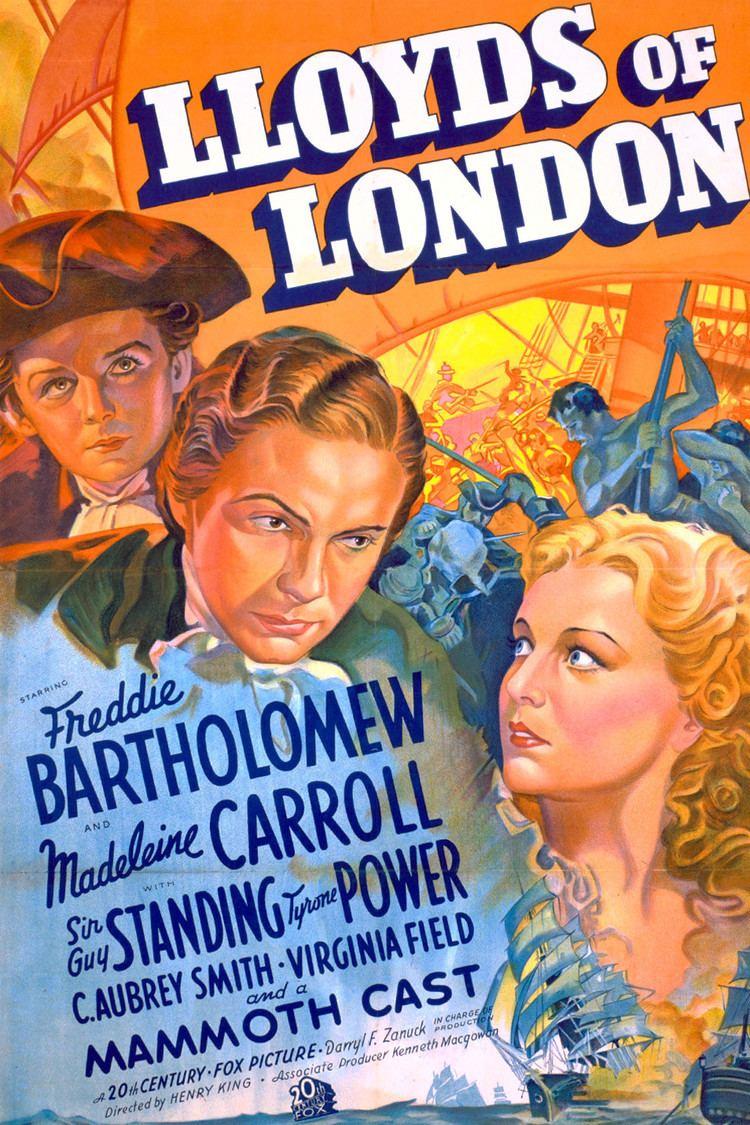 Lloyd's of London (film) wwwgstaticcomtvthumbmovieposters2758p2758p