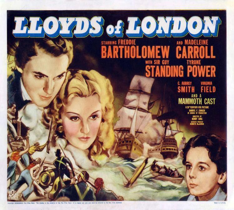 Lloyd's of London (film) Lloyds of London