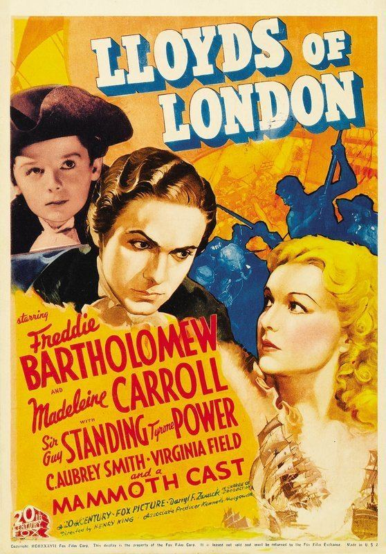 Lloyd's of London (film) Lloyds of London 1936 The Blonde at the Film
