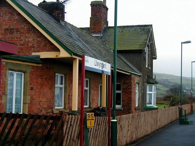 Llwyngwril railway station