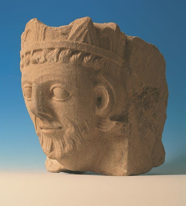 Llywelyn the Great Welsh History Month The carved stone head of Llywelyn The