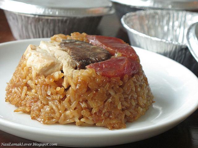 Lo mai gai Nasi Lemak Lover Lo Mai Kai steamed savoury glutinous rice