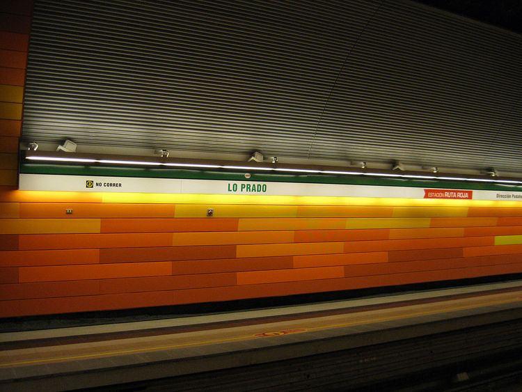 Lo Prado metro station