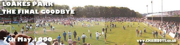 Loakes Park Loakes Park Final Game May 1990 Home of Wycombe Wanderers