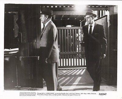 Loan Shark (film) GEORGE RAFT PAUL STEWART Original Vintage LOAN SHARK Film Noir