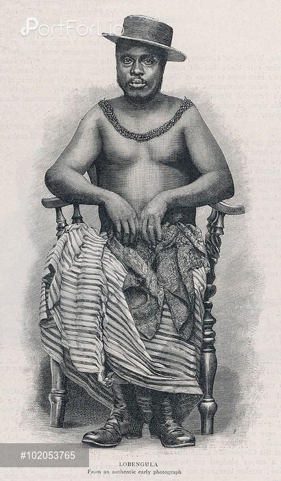 Lobengula LOBENGULA King of the Matabele 187093 YOONIQ Images