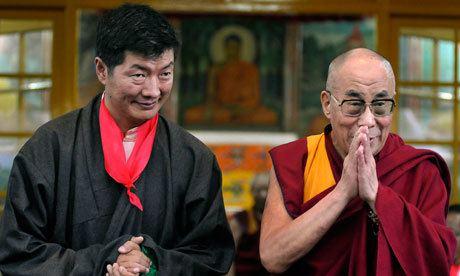 Lobsang Sangay Dalai Lama39s political successor sworn in at Indian