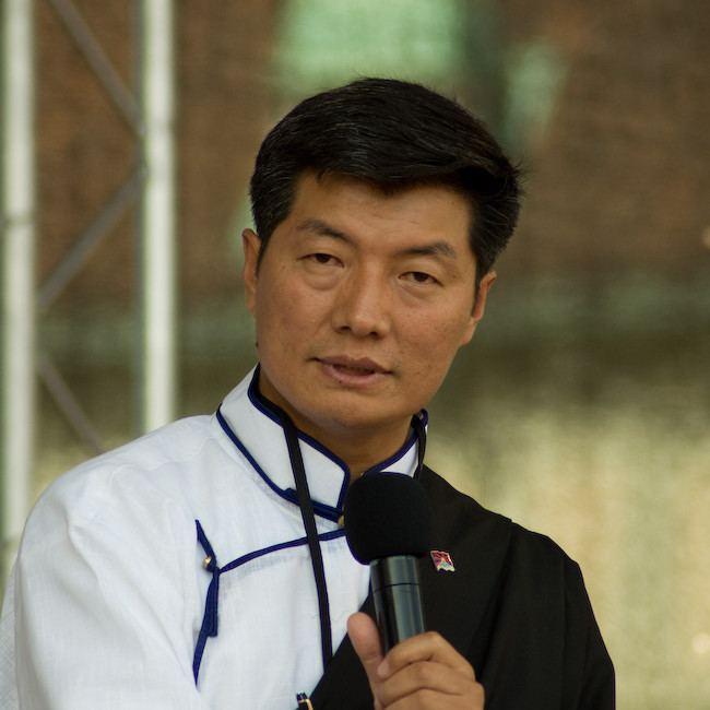 Lobsang Sangay FileLobsangSangayWien2012jpg Wikimedia Commons