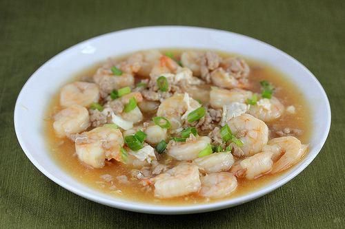 Lobster sauce Shrimp with Lobster Sauce Recipe BlogChefnet