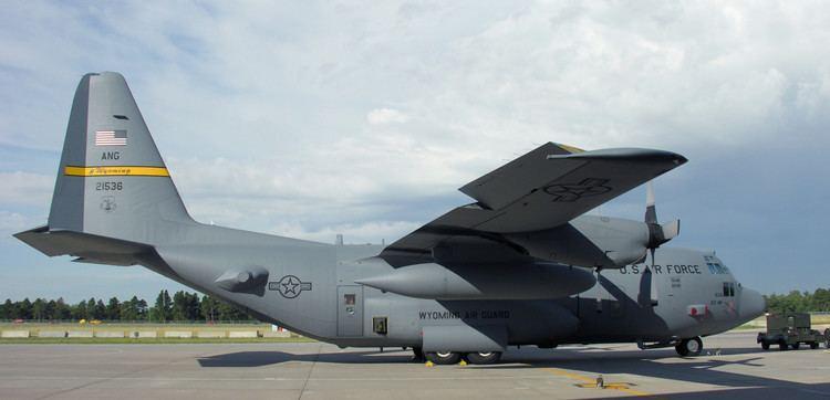 Lockheed C-130 Hercules FileLockheed C130 Hercules of USANG Cheyenne Wyomingjpg