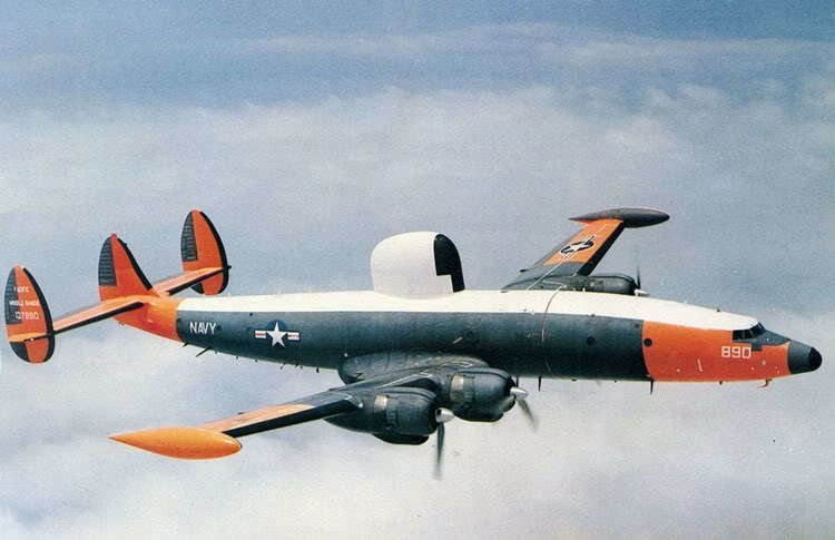 Lockheed EC-121 Warning Star Lockheed EC121 Warning Star Weapons Database The World Wars