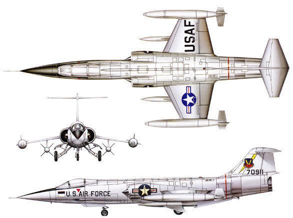 Lockheed F-104 Starfighter Lockheed F104 Starfighter Aircraft