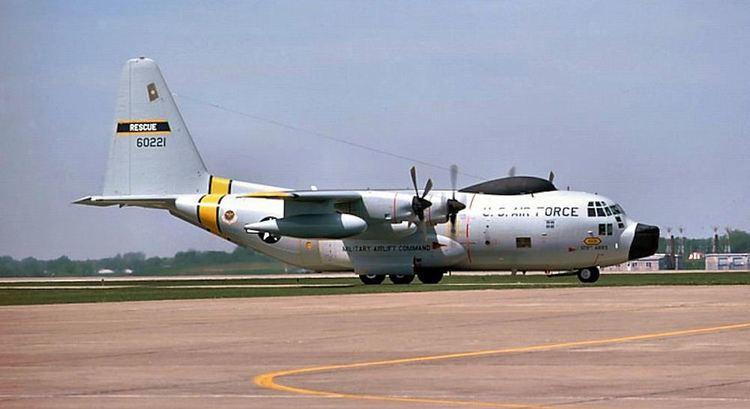 Lockheed HC-130 File129th Aerospace Rescue and Recovery Squadron Lockheed HC130P