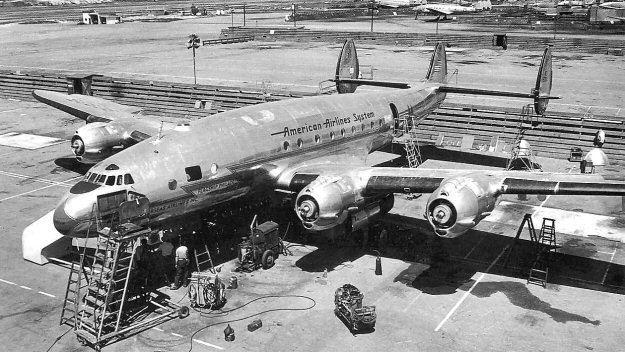 Lockheed L-049 Constellation American Overseas Airlines Lockheed L049 Constellation