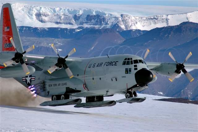Lockheed LC-130 The Antarctic Sun News about Antarctica LC130 Upgrades