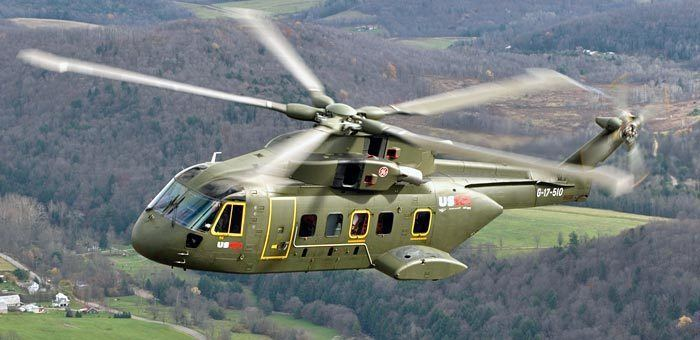 Lockheed Martin VH-71 Kestrel Picture of Lockheed Martin US101 VH71 Kestrel Military Helicopter