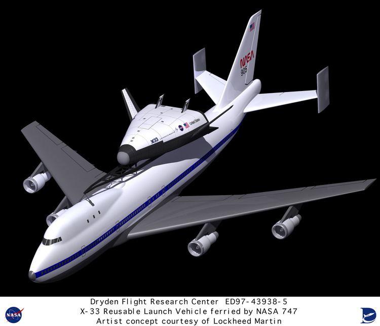 Lockheed Martin X-33 X33 ED97439385 Computer graphic of Lockheed Martin X33 Reusable