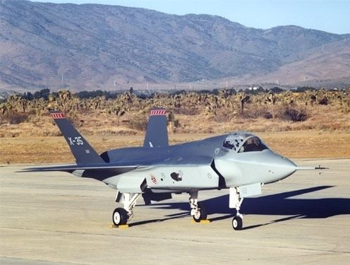 Lockheed Martin X-35 Lockheed Martin X35 Aeroflight