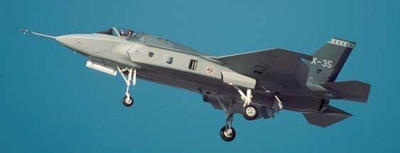 Lockheed Martin X-35 Goleta Air and Space Museum Lockheedmartin X35F35 JSF