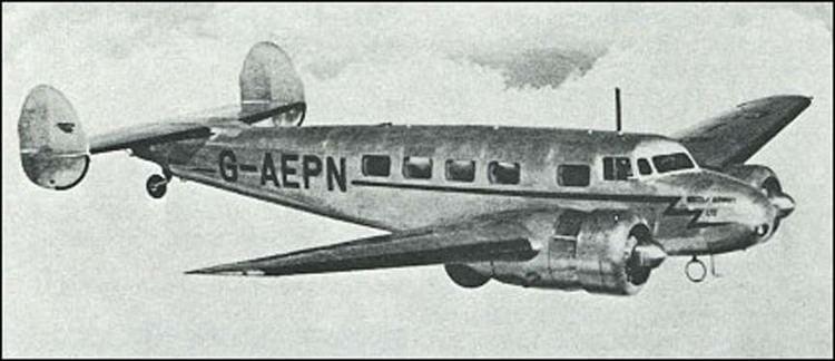 Lockheed Model 10 Electra Survey of Lockheed Aircraft Patents