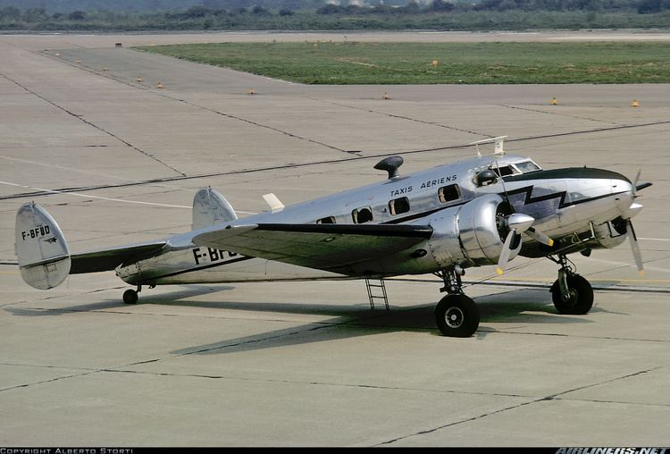 Lockheed Model 12 Electra Junior Lockheed 12A Electra Junior Taxis Aeriens Aviation Photo