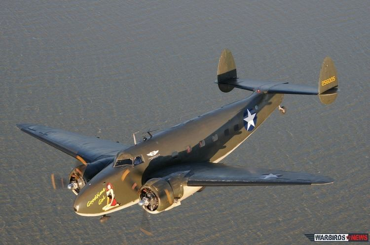 Lockheed Model 18 Lodestar In the Air With the CAF Houston Wing39s Lockheed C60 Lodestar