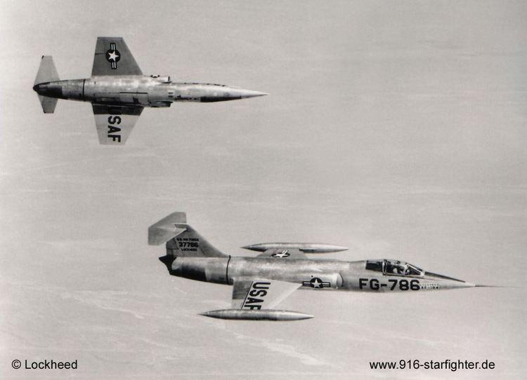 Lockheed XF-104 916 Starfighter