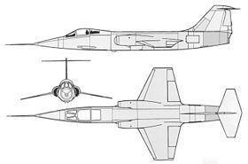 Lockheed XF-104 Lockheed XF104 Wikipdia