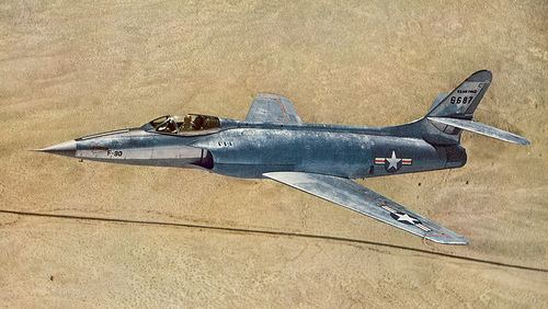 Lockheed XF-90 Lockheed XF90 Photo scanned from an old National Geograph Flickr