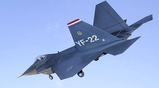 Lockheed YF-22 Italeri 172 YF22 Lightning II by Carmel J Attard
