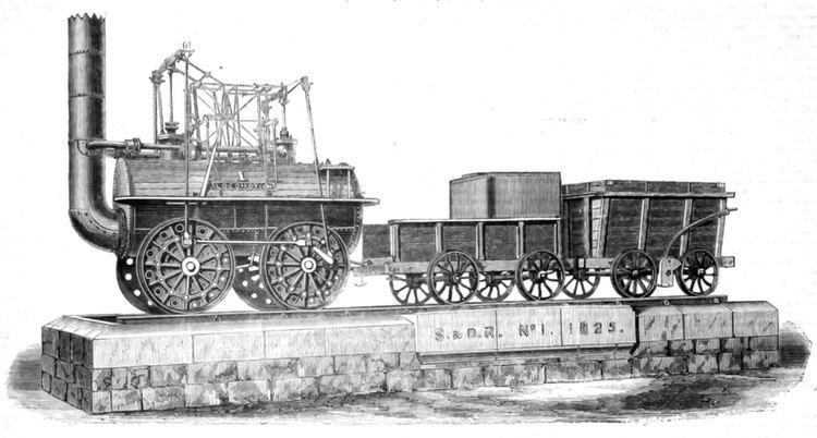 Locomotion No. 1 FileLocomotion No 1 Engineer 1875jpg Wikimedia Commons