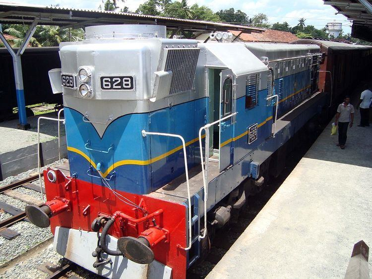 Locomotives of Sri Lanka Railways